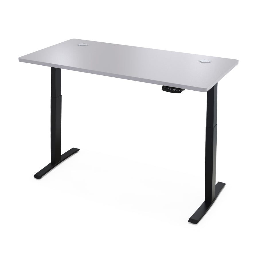 "Hi5 Electric Height Adjustable Standing Desks with Rectangular Tabletop (55""x 31.5"") for Home Office Workstation with 4 Color Option"
