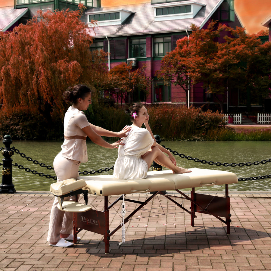 "Master Massage 30"" DEL RAY™ Portable Massage Table folding massage table wood massage table high quality massage table"