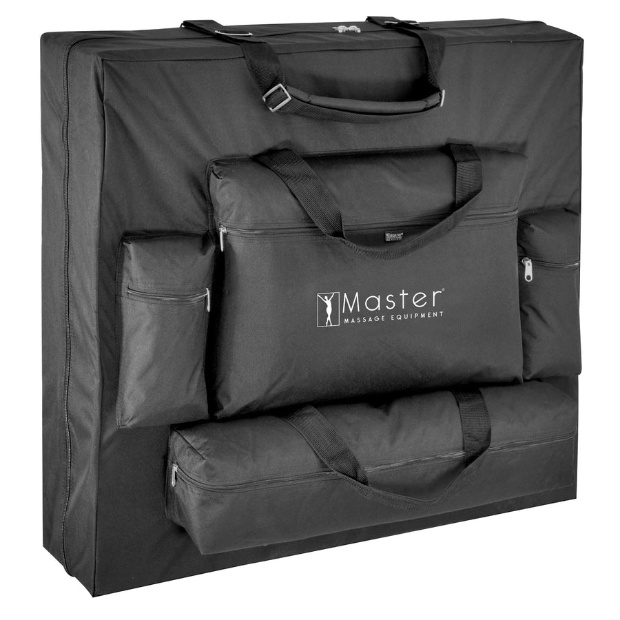 "Master Massage 30"" Phoenix™ Massage Table 4 Pocket Carrying Case."