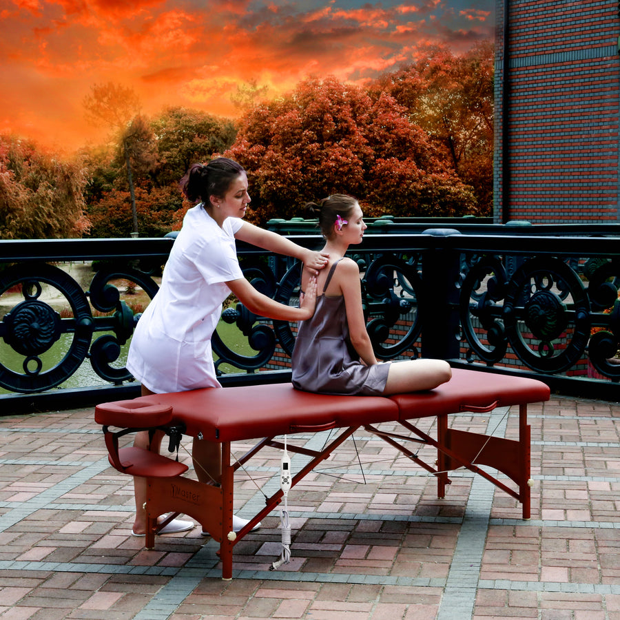 "Master Massage 28"" Fairlane thermal top massage Table"