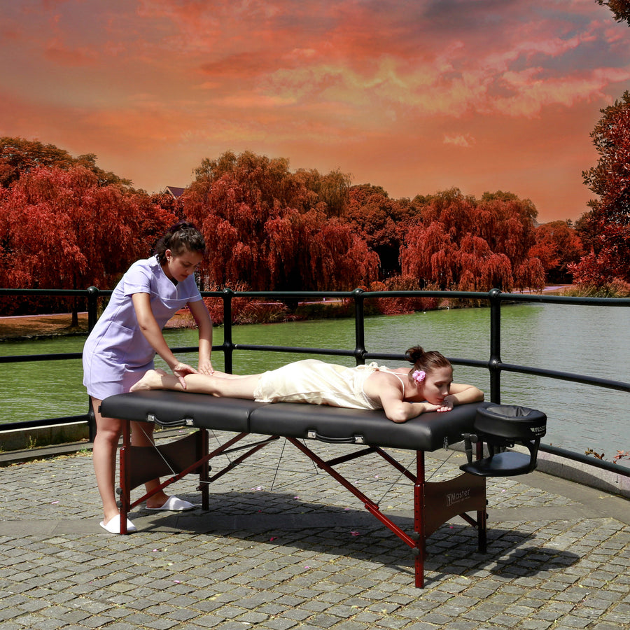 "Master Massage 30"" Roma™ LX Portable Massage Table beauty table facial table high quality massage table"