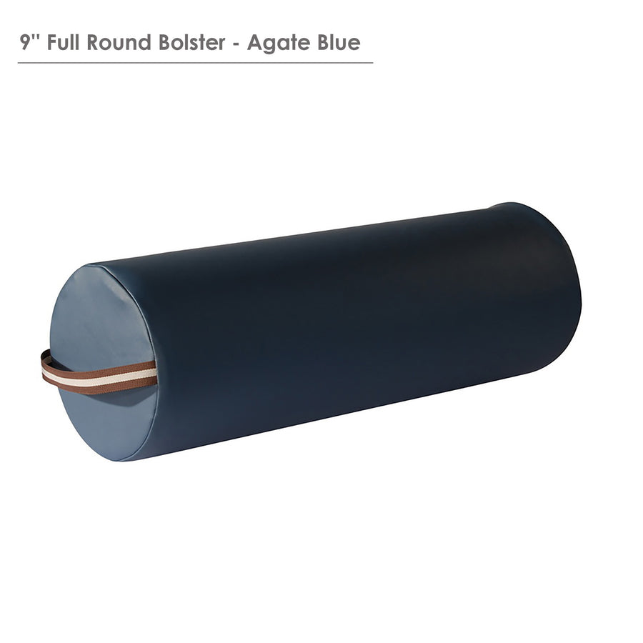 "Master Massage  9""x26"" Round Bolster royal blue"