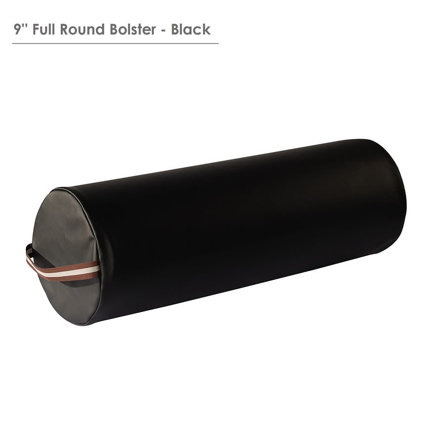 Master extra large full round bolster superior comfort bolster for massage table black color
