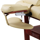 Master Massage Standard Armrest Support for Massage Table, Burgundy Color