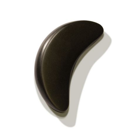 Master Massage Large Crescent Shape Balsalt Stone for Hot Stone Massage 2 Piece Pack