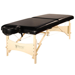 "Master Massage 30"" Balboa™ Portable Massage & Exercise Table Package, Black Luster"