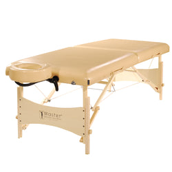"Master Massage 30"" Balboa™ Portable Massage & Exercise Table Package, Cream Luster"