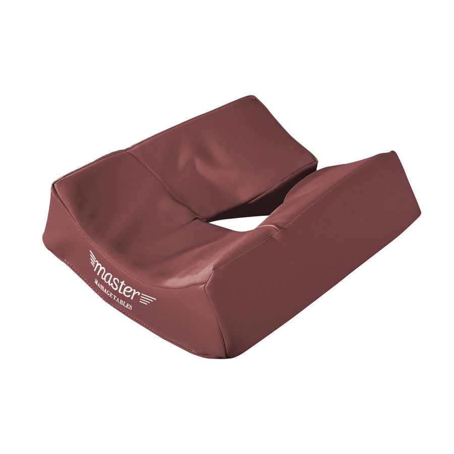 Master Massage Ergonomic Dream Face Cushion Pillow Memory Foam Universal Headrests Cradle - Mountain Red