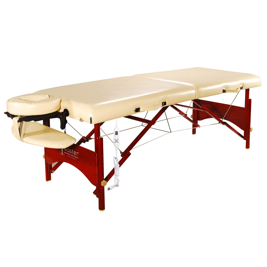 "Master 28"" Caribbean Thermal top portable massage table"