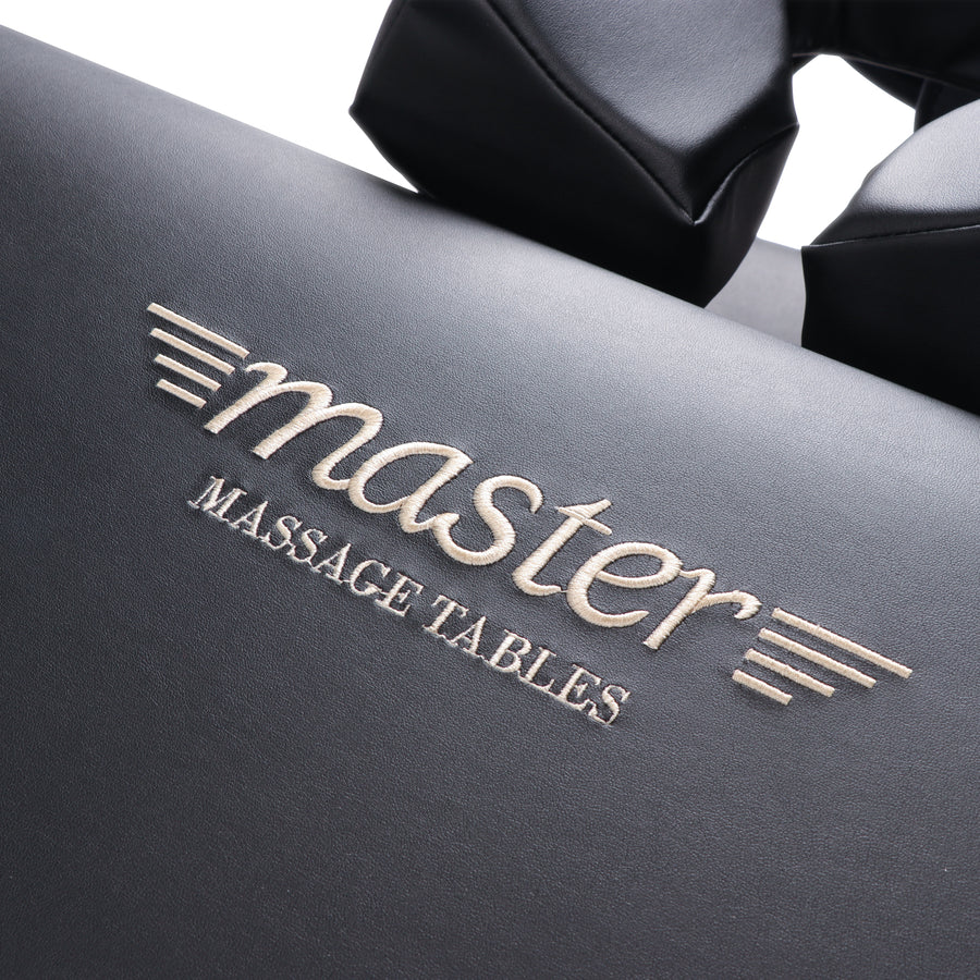 "Master Massage 30"" DEL RAY™ Portable Massage Table Package with 3"" Thick Cushion of Foam for Ultimate Comfort! (Black Color)"