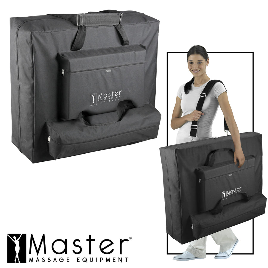 "Master Massage 30"" DEL RAY™ Portable Massage Table 2 pocket carrying case"