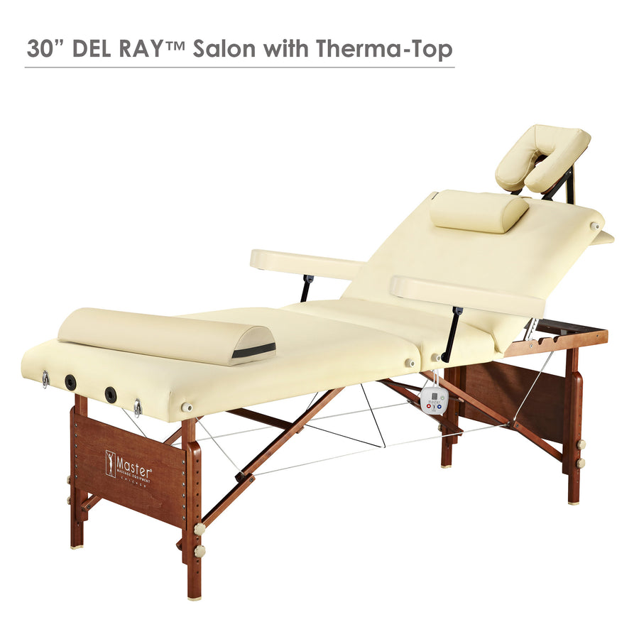 "Master Massage 30"" DEL RAY™ Massage Table Portable Massage Table  Salon Table"