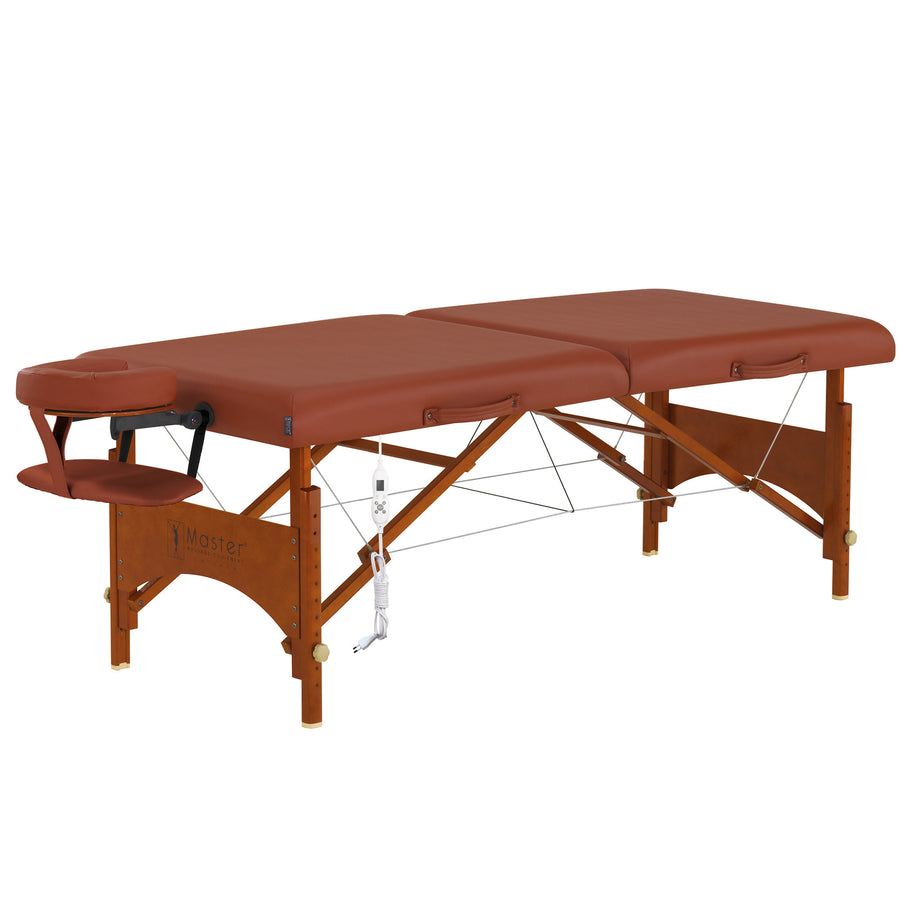 "Master Massage 28"" Fairlane thermal top comfort Table"