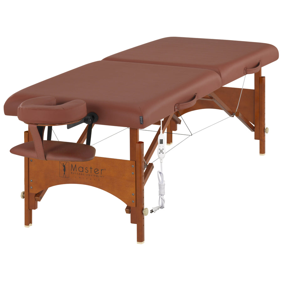 "Master Massage 28"" Fairlane thermal top comfort massage Table"