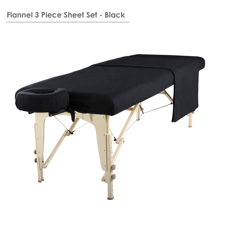 Master  Massage Table Flannel 3 Piece Sheet Set Massage table cover