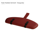 Master Massage Standard Armrest Support for Massage Table burgundy