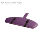 Master Massage Standard Armrest Support for Massage Table purple