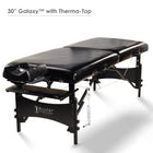 "Master Massage 30"" GALAXY Wooden Massage Table Black"