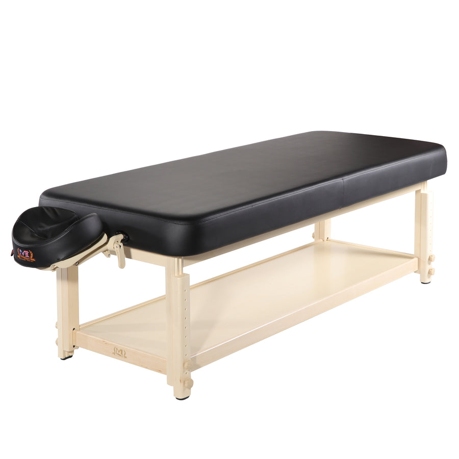 "Master Massage 30"" stationary massage table wooden massage table"