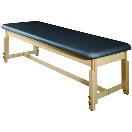"Master Massage 28"" Harvey Treatment™ Stationary Massage Table - Agate Blue"