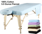 Master  Massage Deluxe  table flannel cover sheet set blue