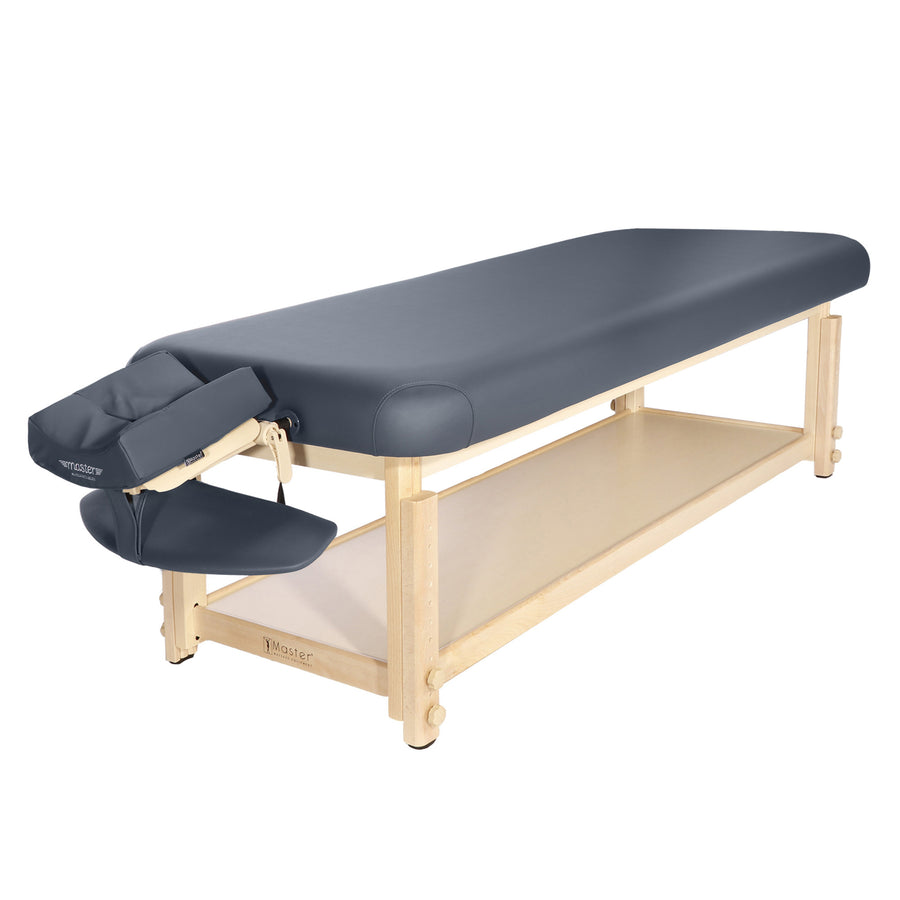 "Master Massage 30"" LAGUNA Stationary Massage Table Blue"