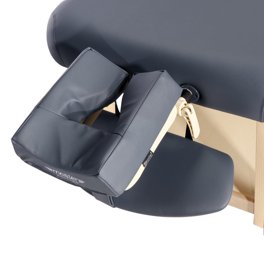 "Refurbish Master Massage 30"" LAGUNA™ Stationary Massage Table Package - GREAT for Private Practitioners! (Navy Blue)"