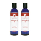 Master Massage Unscented Water Soluble Blend Massage Oil 2 bottle