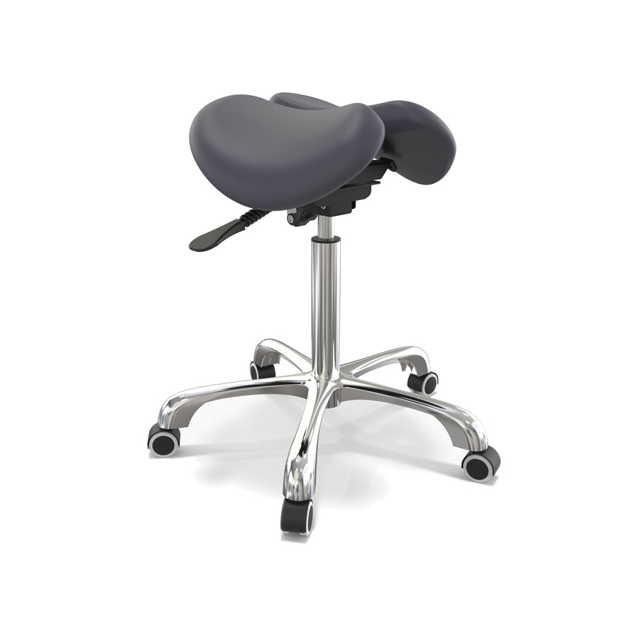 Master Massage Ergonomic Split  Saddle Stool