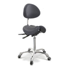 Master Massage Berkeley Ergonomic Split Seat Style Backrest Saddle Stool with Two Tilting option Royal Blue