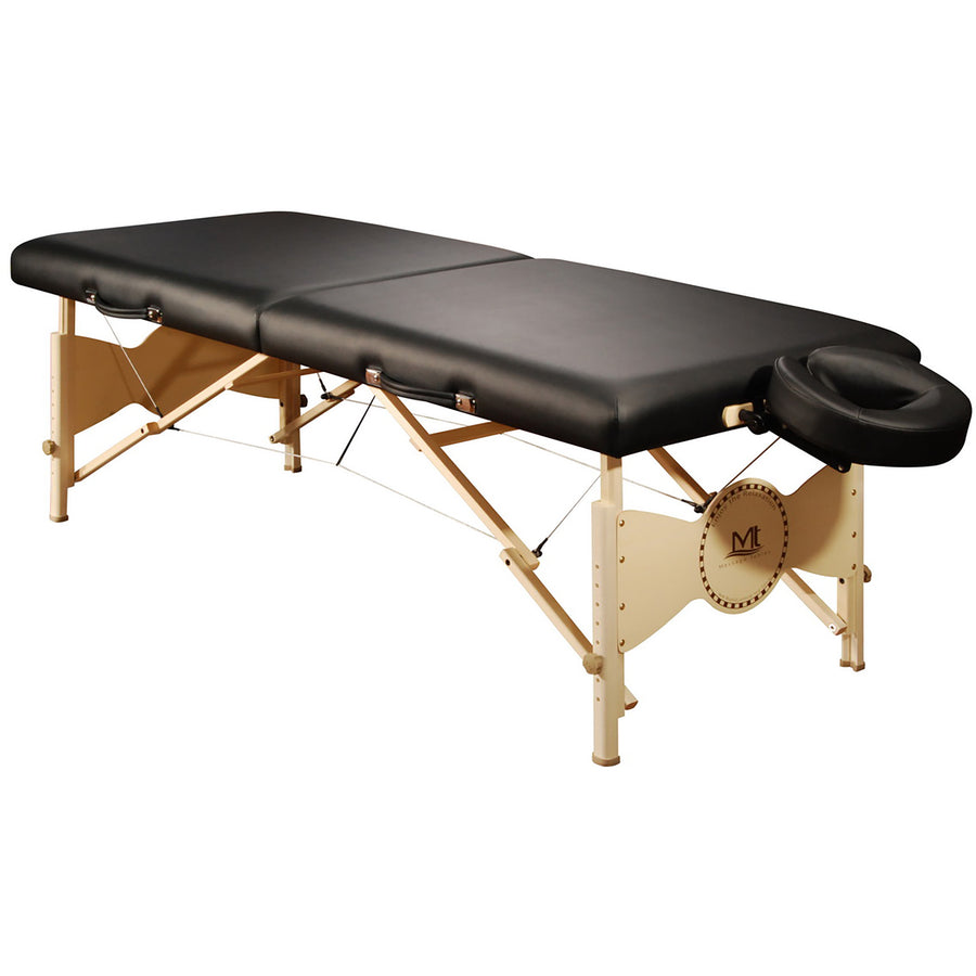 "Mt Massage 30"" Midas Standard Portable Massage Table Package Spa Salon Bed Beige"