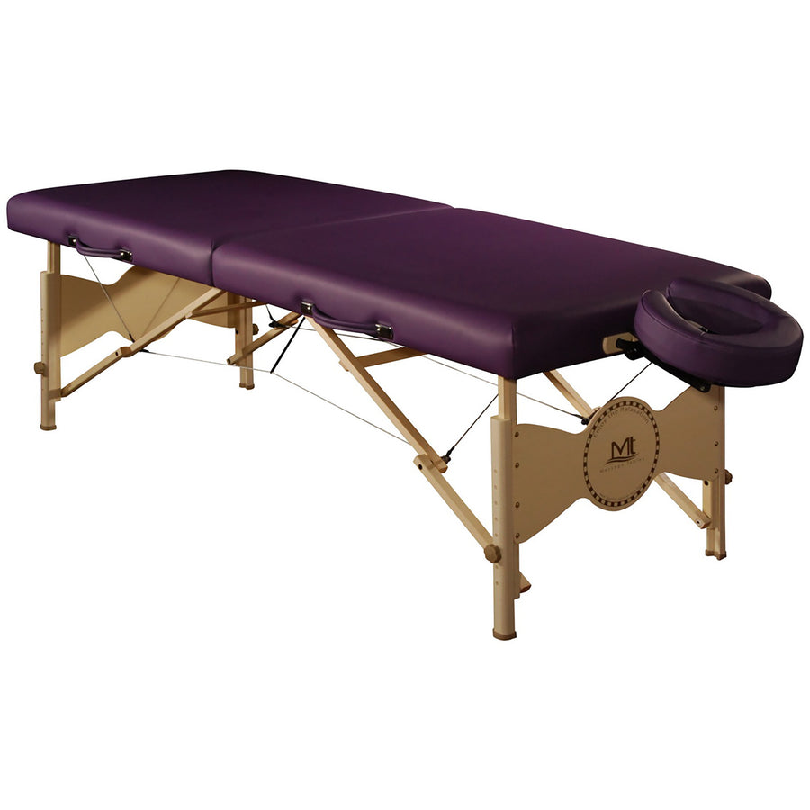 "Mt Massage 30"" Midas Standard Portable Massage Table Package Spa Salon Bed Agate Blue"