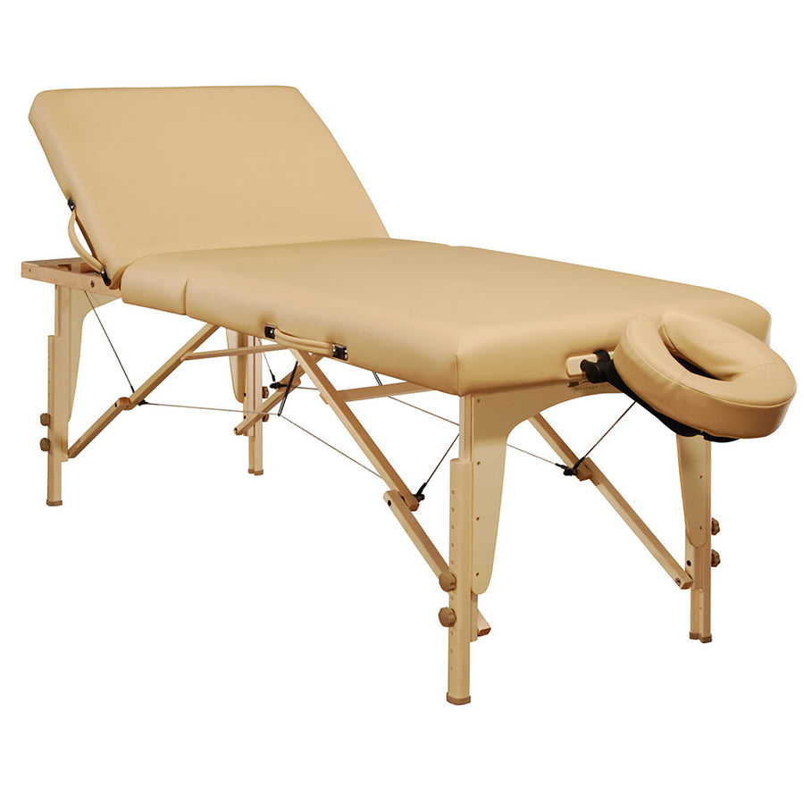 "Mt Massage 30"" Midas Tilt Portable Massage Table Package Backrest Liftback Tattoo and Salon Table Agate blue"