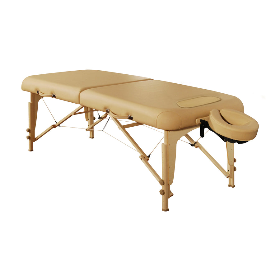 "Mt Massage 30"" Midas Girl Breast Recess Full Size Professional Portable Massage Table Package Royal Blue"