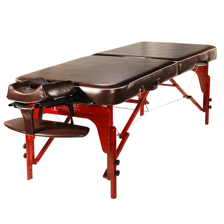 "Master  Massage 30"" MONROE Massage Table Chocolate"
