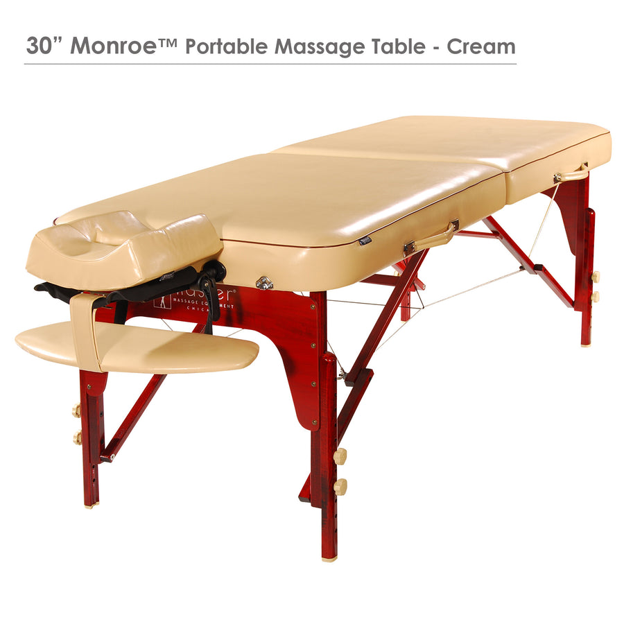 "Master  Massage 30"" MONROE Massage Table Cream"