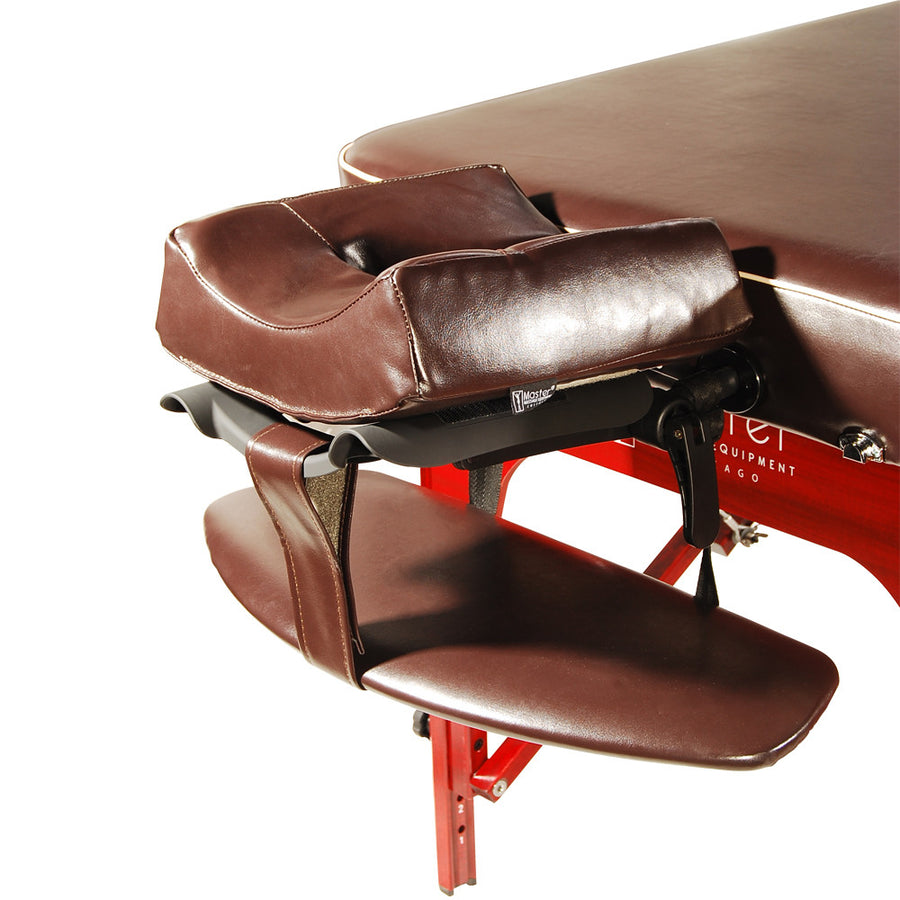 "Master  Massage 30"" MONROE Massage Table Chocolate head set"