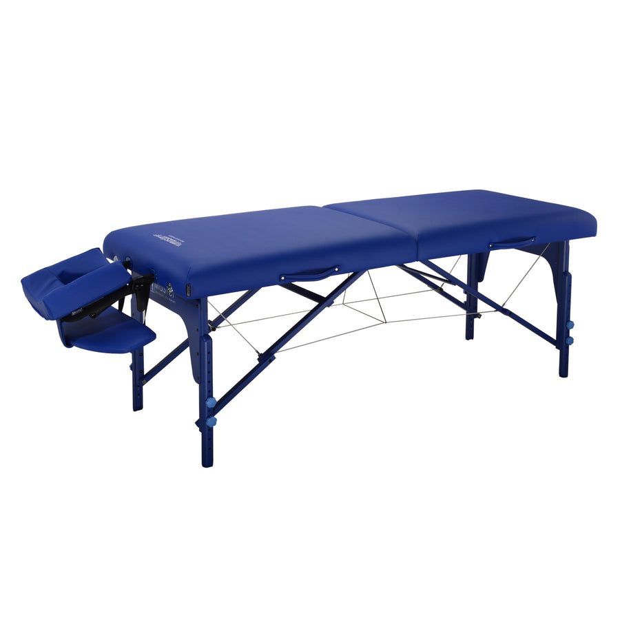 "Master Massage 31"" Montclair Massage Table Imperial Blue"