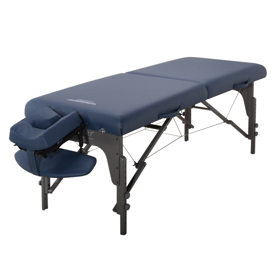 "Master Massage 31"" Extra Wide Montclair Massage Table Royal blue"