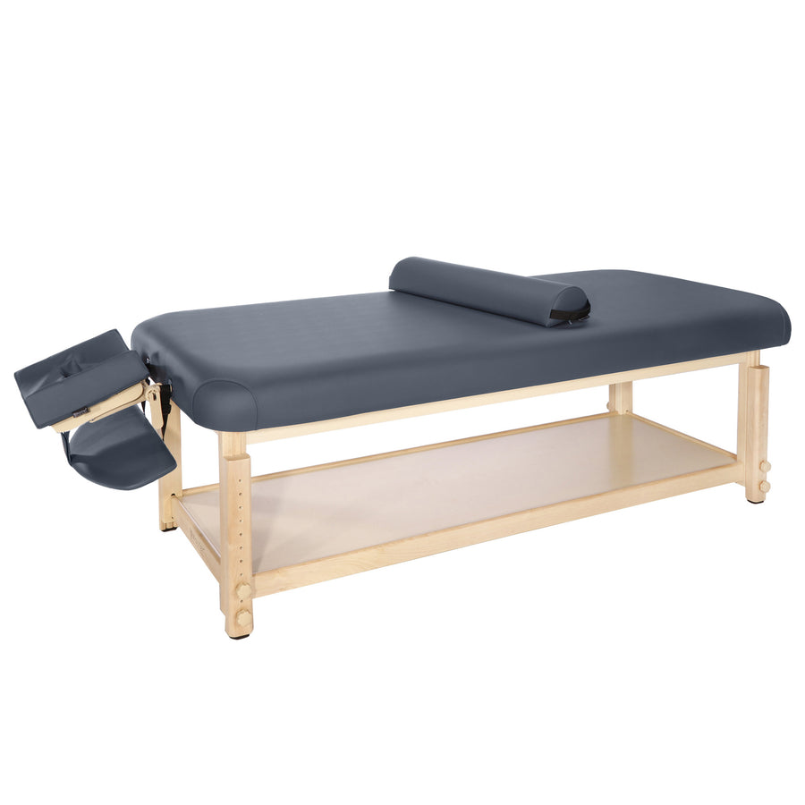 "Master Massage 30"" LAGUNA™ Stationary Massage Table Package - GREAT for Private Practitioners! (Navy Blue)"