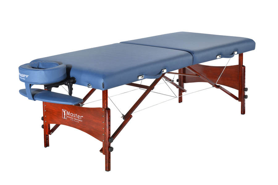 "Master 30"" Newport massage Table Blue"