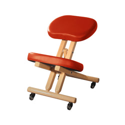 Master Comfort Plus Wooden Kneeling Chair Cinnamon