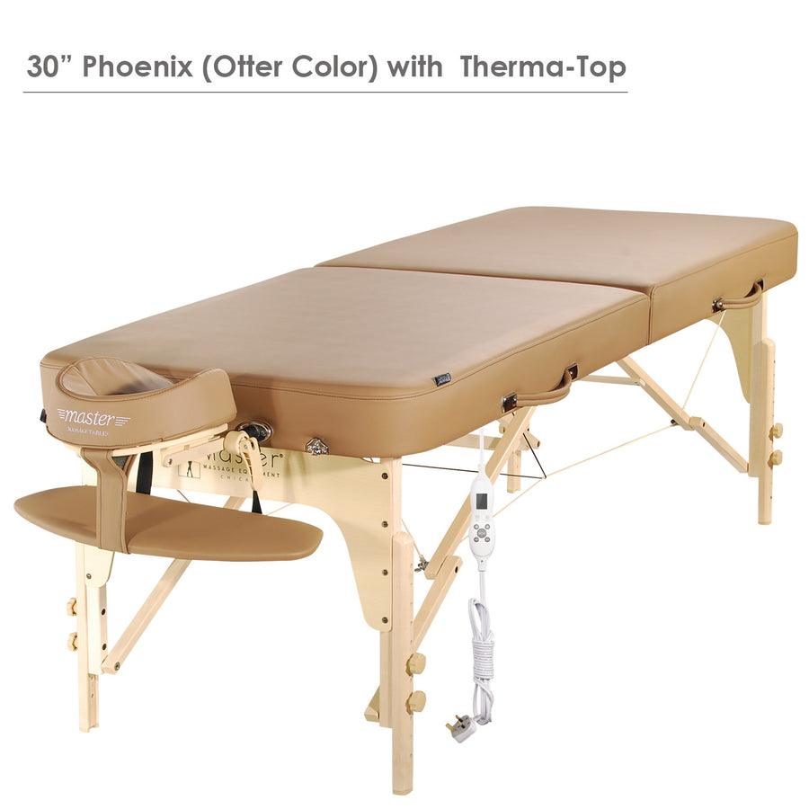 "Master Massage 30"" Phoenix™ Massage Table Portable Massage Table Folding Massage Table"