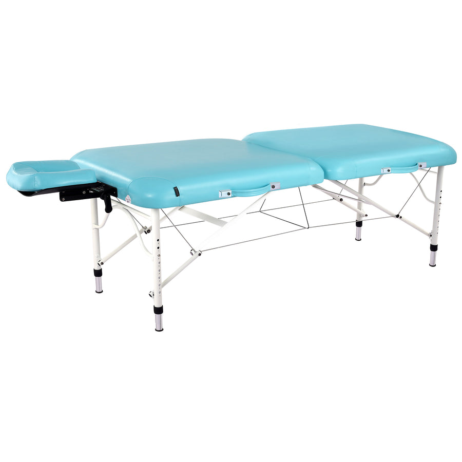 "Master Massage 30"" CALYPSO carry folding Massage Table Blue"