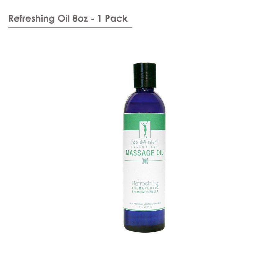 Master Massage Refresh organic Aromatherapy Massage Oil