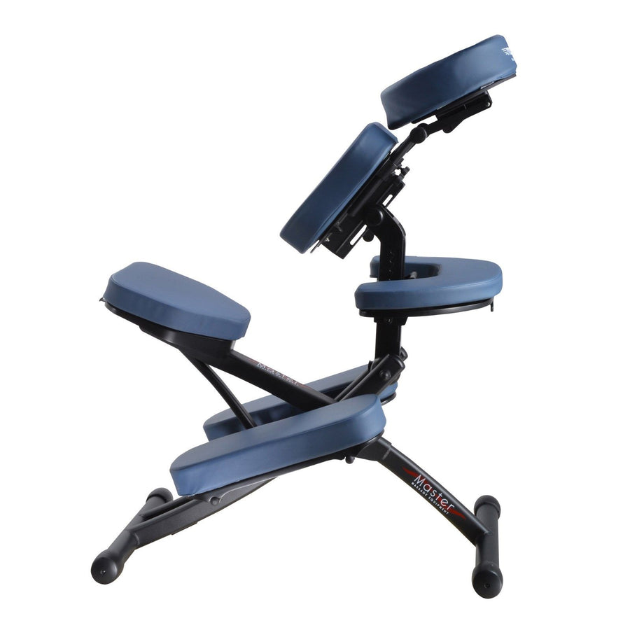 Master Massage Rio Portable  Chair royal blue