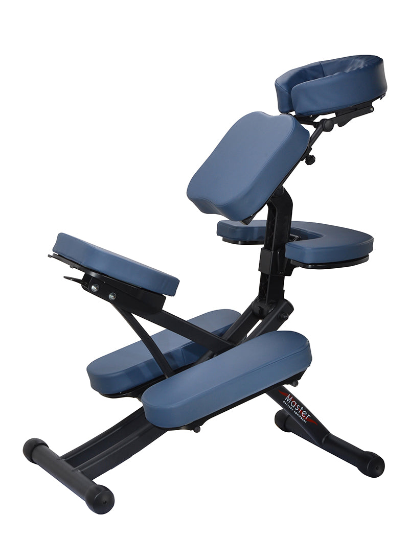 Master Massage Rio Portable Massage Chair blue