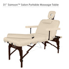 Master stationary massage table salon table Wooden Table Top Table
