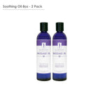 Master Massage  Soothing Aromatherapy Massage Oil pack of 2