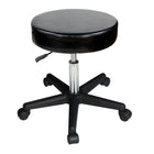 Master Massage Rolling  swivel Stool Black